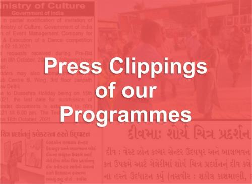 Press Clippings of our Programmes